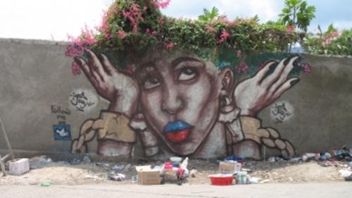Jerry Rosembert Moise work in Haiti