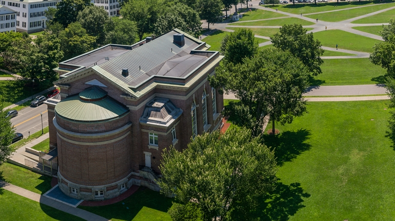 Aerial view of Rauner