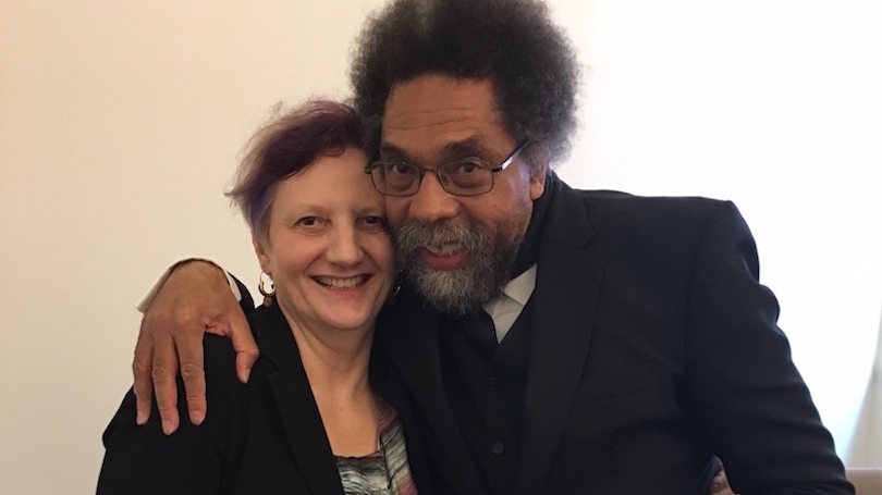 Cornel West and Leslie Center Director, Graziella Parati